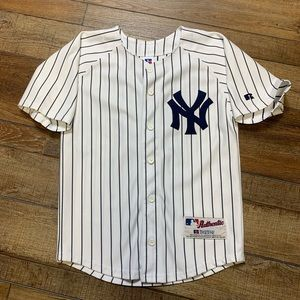 Derek Jeter New York Yankees Kids Jersey Vintage
